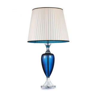 BLUE MAGIC CRYSTAL FLOOR LAMP