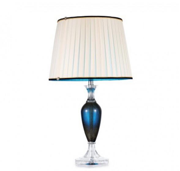HEAVENLY BLUE CRYSTAL TABLE LAMP
