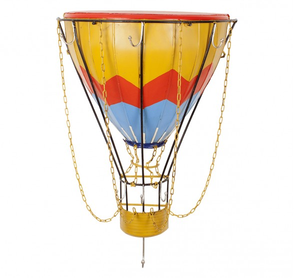 HOT AIR BALLOON SHELF WITH RACK