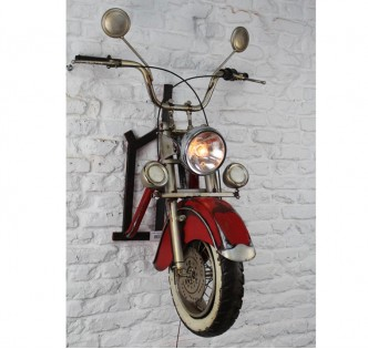 MOTORCYCLE CHAMPION VINTAGE LIGHT