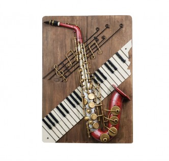 THE WORLD OF MUSIC WALL PANEL