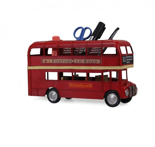 NOTTING HILL DOUBLEDECKER PEN HOLDER