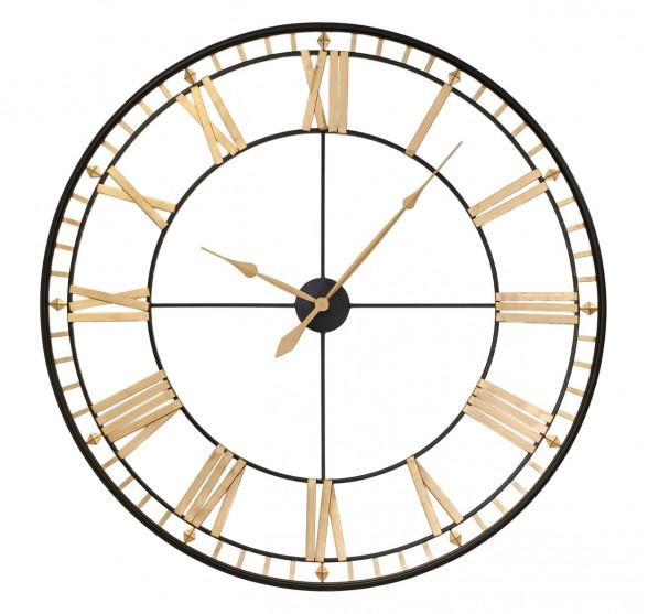 GIANT DIAMOND TIMES WALL CLOCK 120 CM