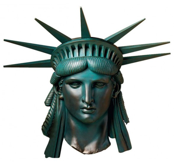 STATUE OF LIBERTY WALL FRIEZE